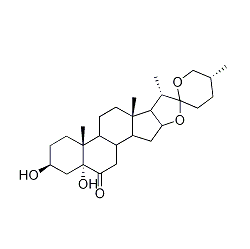5a-hydroxylaxogenin